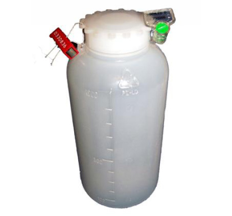 Plombowane butelki plastikowe