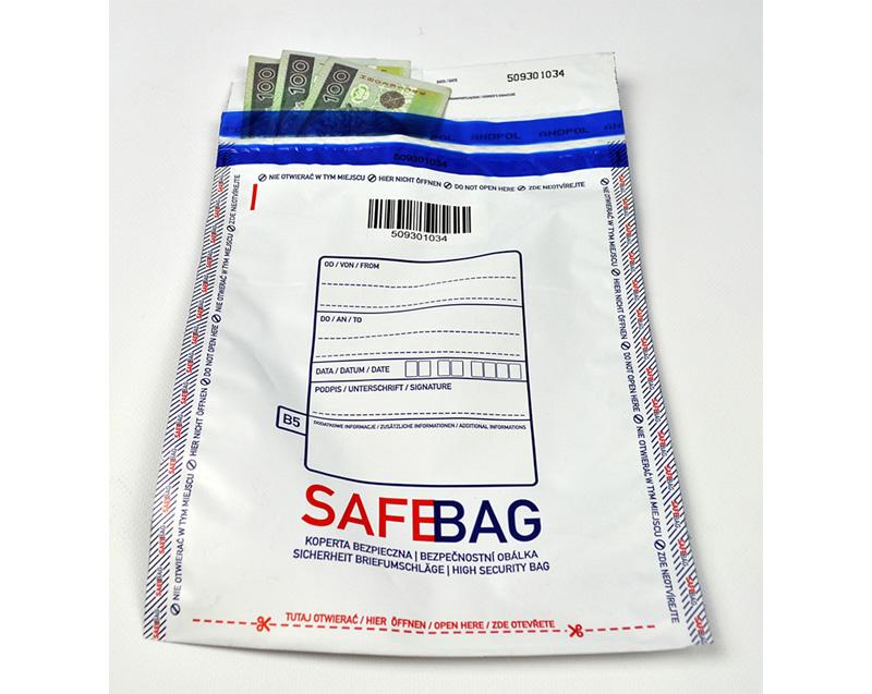Koperty bezpieczne B5 mleczne